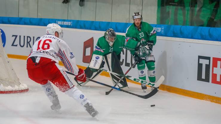 Der EHC Olten trifft im Achtelfinal des Swiss Icehockey Cup auf die Rapperswil-Jona Lakers.