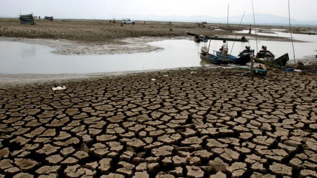 Der Ausstoss von Treibhausgasen in Kombination mit dem Wetterphänomen El Nino führt laut Forschern zu heissem, trockenem Klima. (Archivbild)