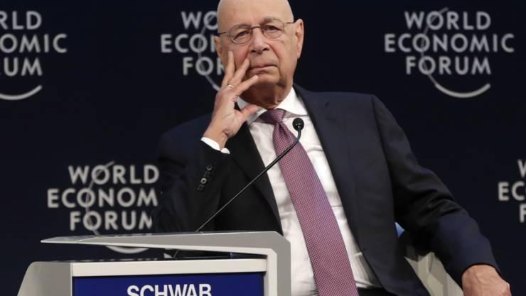 Das Schweizer Ehrenbürgerrecht kann Klaus Schwab, dem Gründer des WEF, nicht verliehen werden. (Archiv)