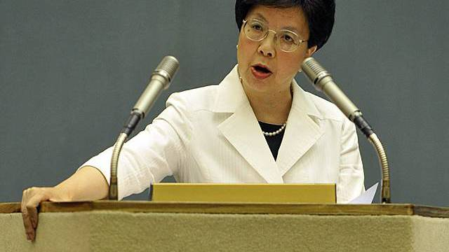 WHO-Chefin Margaret Chan (Archiv)