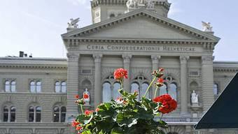 Das Bundeshaus in Bern (Archiv)