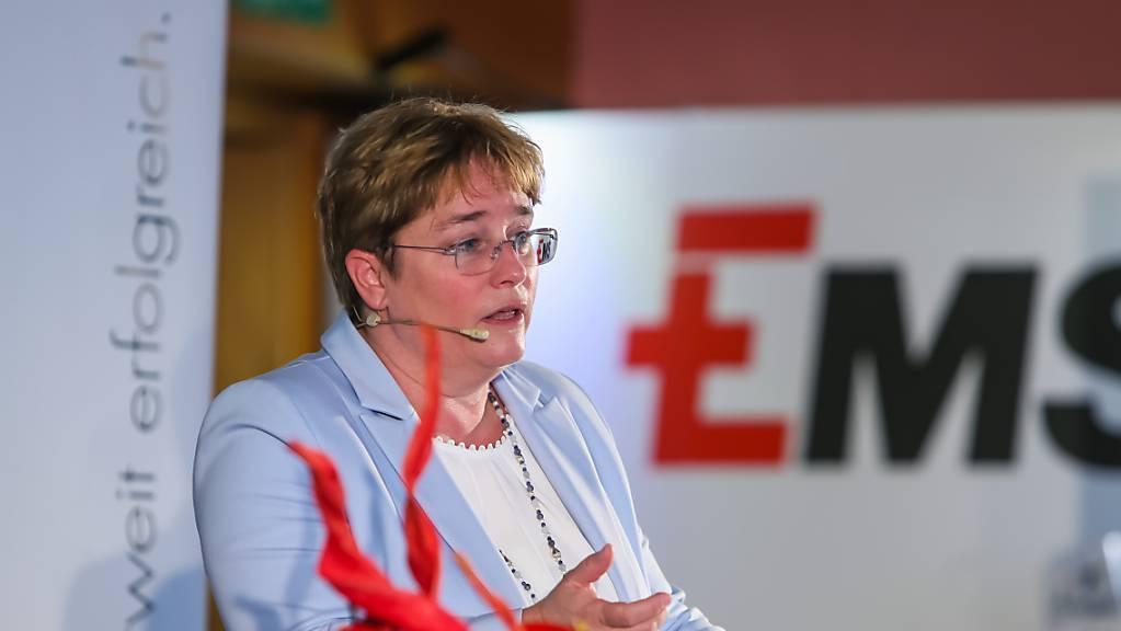 Ems-Chefin Magdalena Martullo-Blocher. (Archivbild)