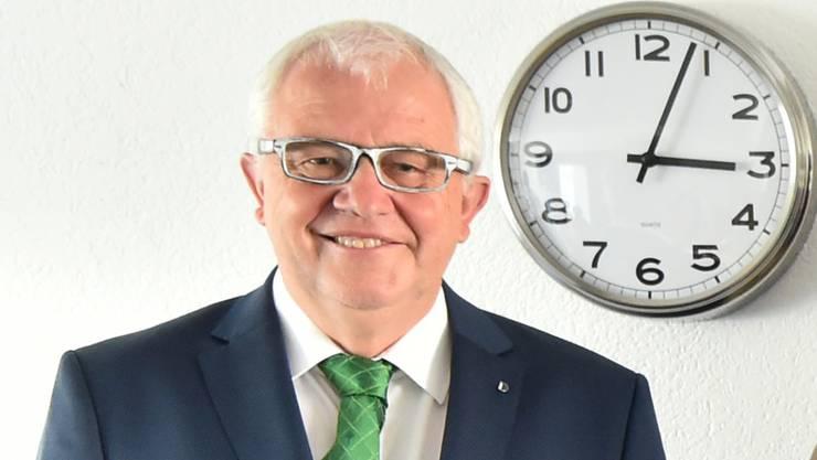 Balsthals Gemeindeschreiber Bruno Straub