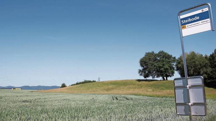 Am Standort Steibode ist ein kombiniertes Materialabbau- und Deponiegebiet geplant.