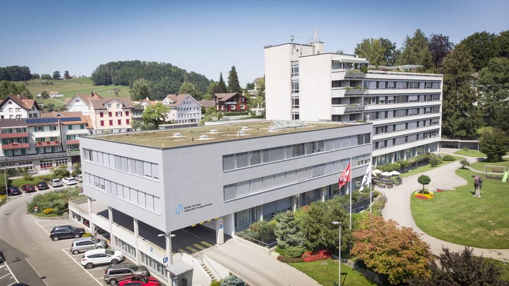 Elf Fälle in Ausserrhoden – Spital Herisau wird Corona-Spital