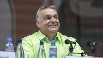 Der ungarische Premierminister will die EU für den ungarischen Grenzzaun zahlen lassen. (Archiv)