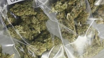 Die Stadtpolizei Zürich beschlagnahmte rund 1,5 Kilogramm Marihuana. (Symbolbild)