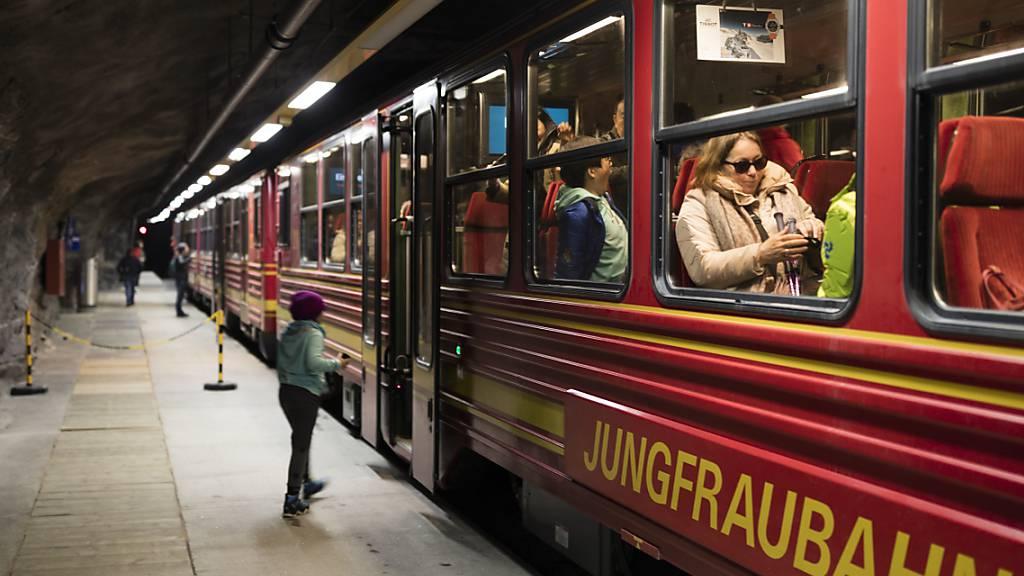 Jungfraubahn erleidet wegen Corona erstmals einen Verlust. (Archiv)