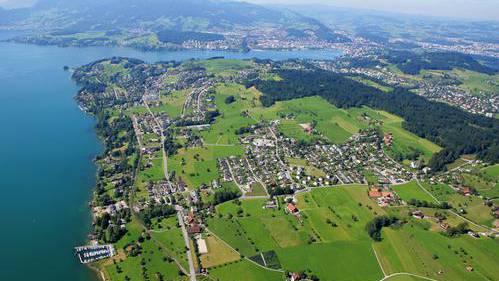Die Gemeinde Meggen