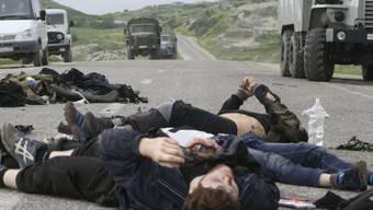 Vom russischen Militär getötete Extremisten in Dagestan (Archiv)