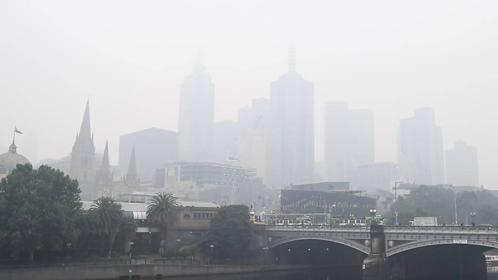 Brände: Luft in Melbourne «sehr ungesund» - Regen erwartet
