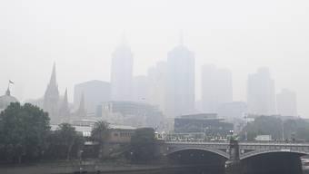 In Melbourne ist die Luftqualität sehr schlecht. Für die Bewohner war es der zweite Tag in Folge mit besonders dicker Luft.