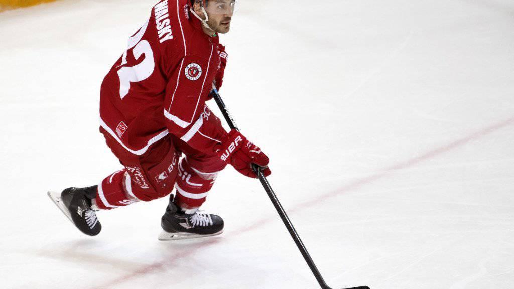 Eric Walsky steht dem HC Lausanne vorderhand nicht zur Verfügung