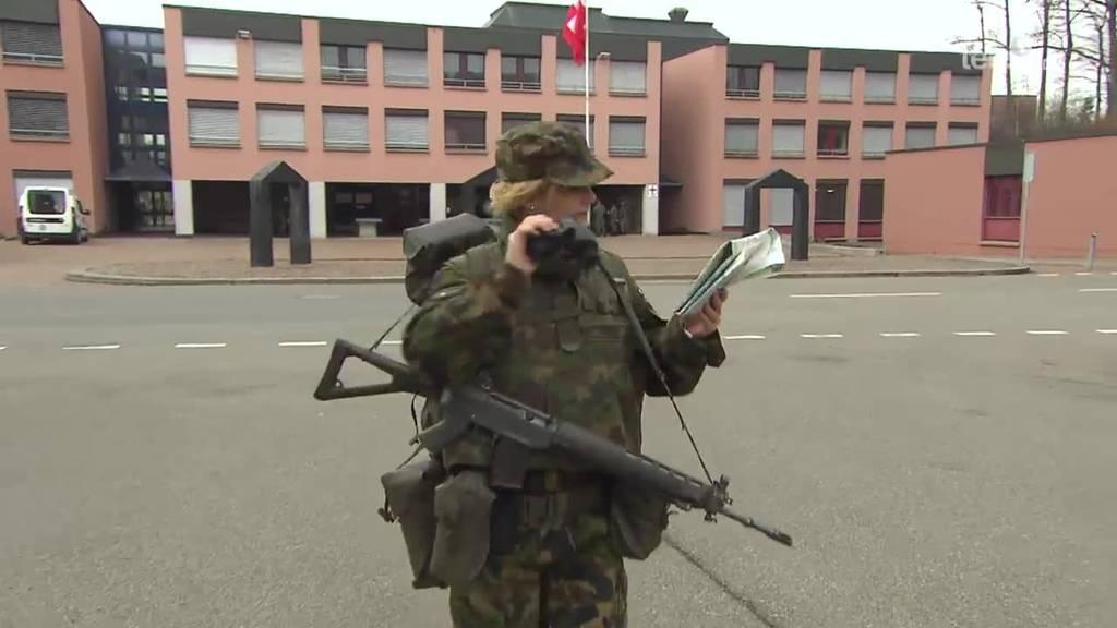 im Militär