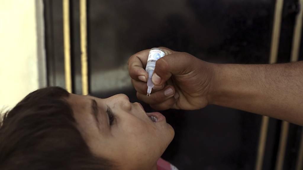 Wiederaufnahme der Polio-Impfkampagne in ganz Afghanistan geplant