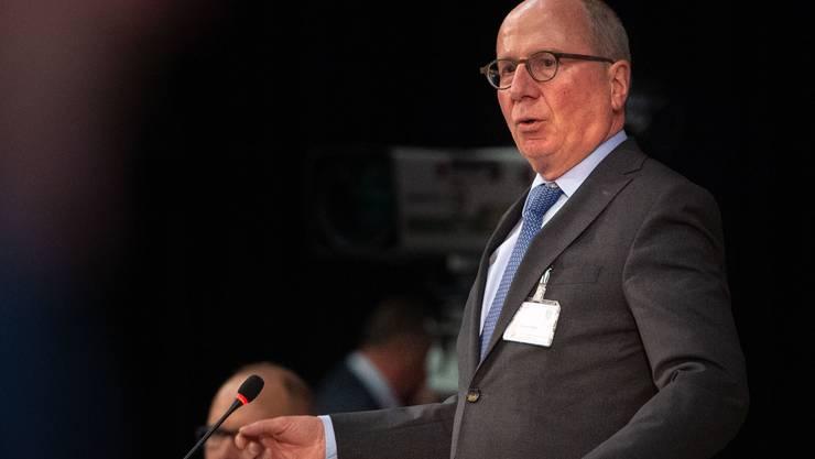 Der St.Galler Sicherheitsdirektor Fredy Fässler (SP).