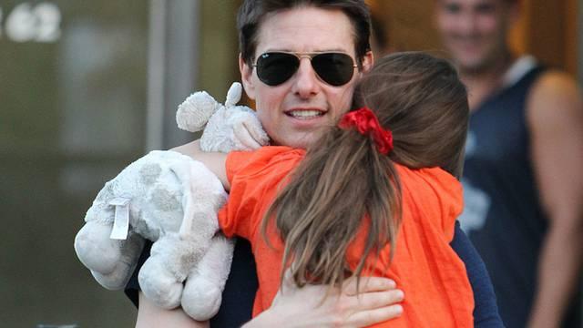 Tom Cruise mit Tochter Suri (Archiv)