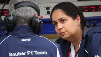 Sauber-Teamchefin Monisha Kaltenborn blickt optimistisch in die Zukunft.