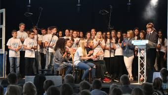 Feier zu 40 Jahre Kreisschule Mittelgösgen