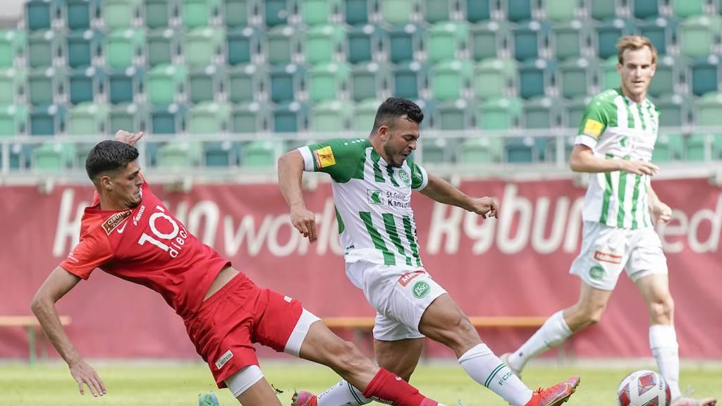 Lorenzo González verlässt den FC St.Gallen