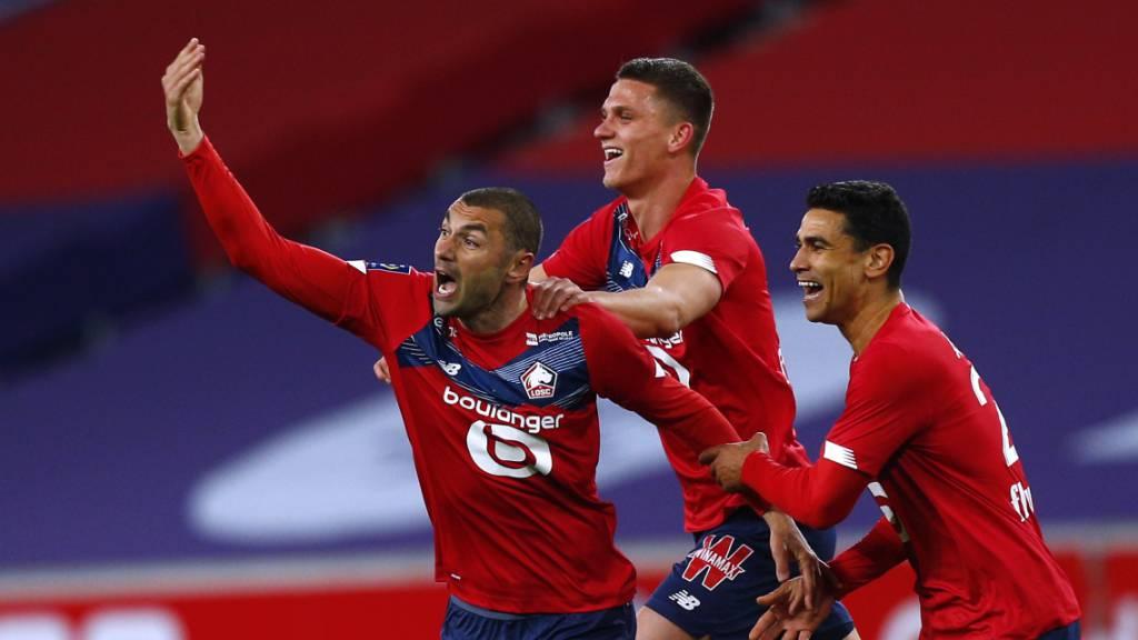 Lille siegt und erhöht den Druck auf PSG