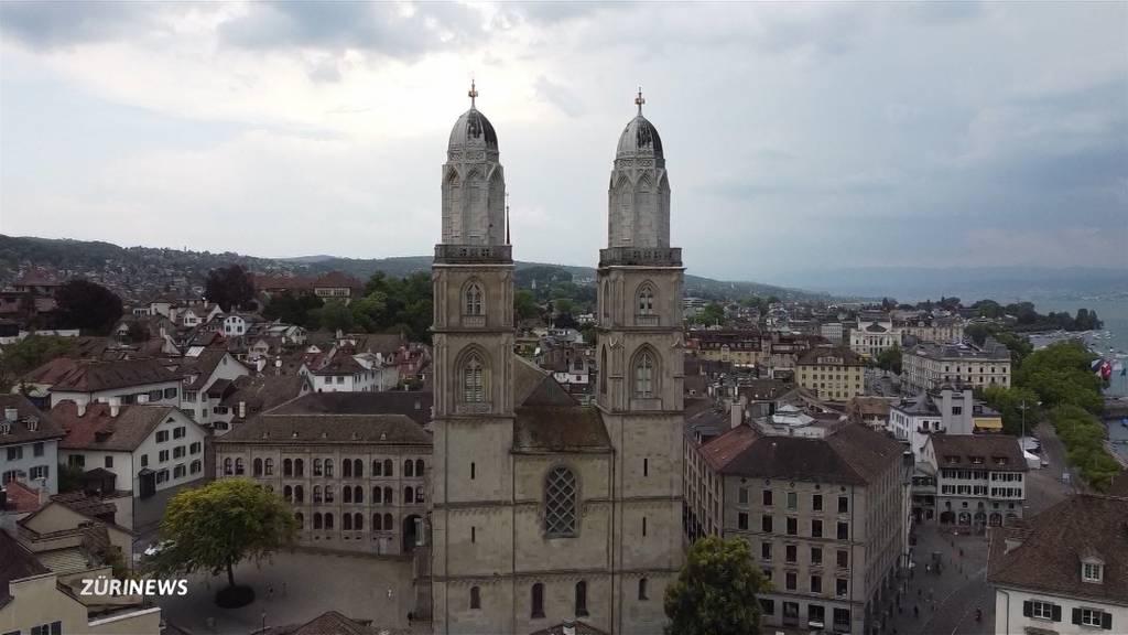 Sanierungsarbeiten am Grossmünster starten 2022