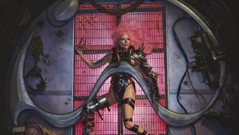 """Ernste Themen, verpackt in eingängigen Elektropop: US-Popstar Lady Gaga veröffentlicht ihr sechstes Studioalbum """"Chromatica""""."""