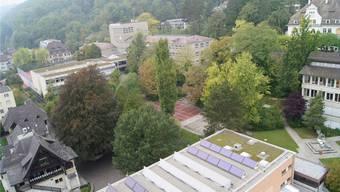 Auf dem Burghalde-Areal soll ein Oberstufenzentrum entstehen. KOB