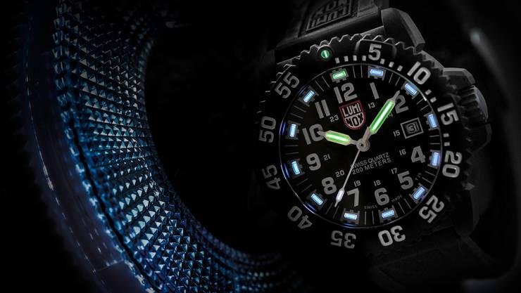 Die Luminox-Uhr Nightshot.