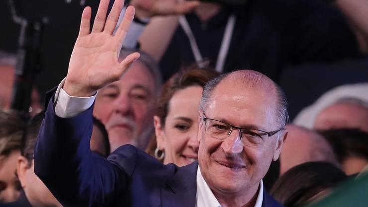 Geraldo Alckmin war einst Gouverneur von São Paulo.