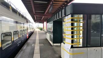 Schon wieder: Der Bahnhof Neuenhof ist einer von vielen, an denen es immer wieder sinnlose Gewaltausbrüche gibt. AF.