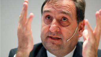 Wird ersetzt: «Joe» Strähle, CEO der Basler Bank Sarasin
