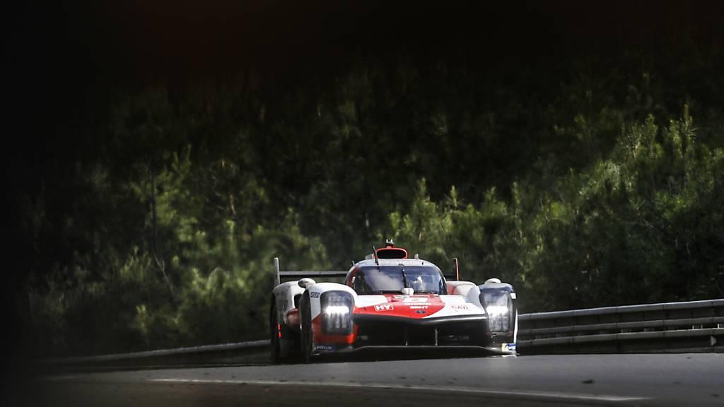 Mit dem Toyota auf dem 2. Platz: Sébastien Buemi beim 24-Stunden-Rennen in Le Mans