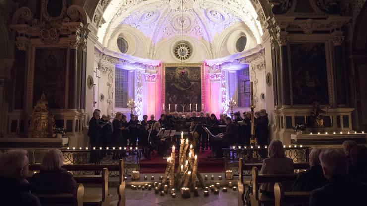 Der Erlös der letztjährigen Konzerte floss in die Innensanierung der Kirche. Heuer wird der Erlös an Bedürftige verteilt.