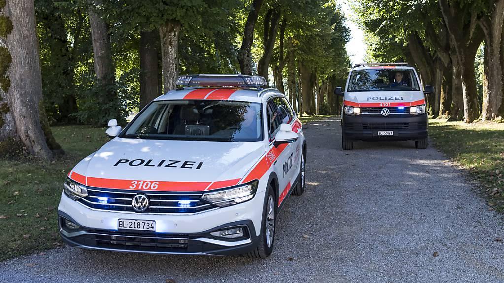 Die Polizei Basel-Landschaft hat am Mittwochabend eine unbewilligte Demonstration aufgelöst. (Archivbild)