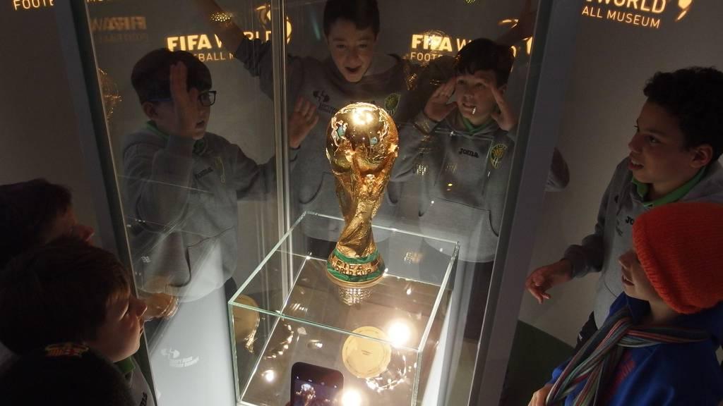 SC Kriens testet FIFA Welt Fussball Museum in Zürich
