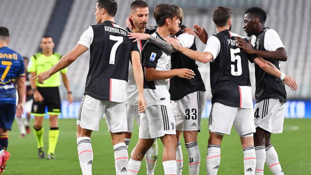 Juventus siegt nach zäher ersten Halbzeit klar
