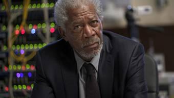 """Morgan Freeman spielt in """"Lucy"""" einen Hirnforscher (Archiv)"""