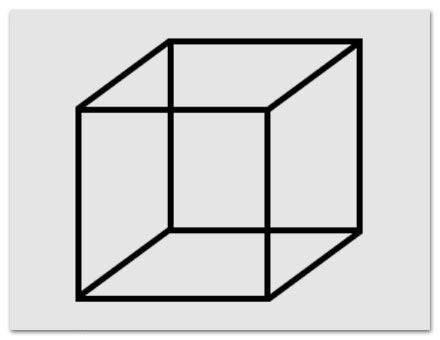 Steht der Würfel auf der Grundfläche oder auf der Kante?