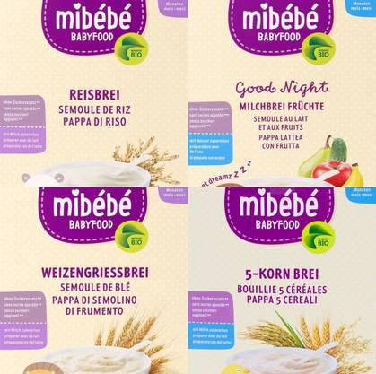 Diese vier Mibébé-Produkte ruft die Migros am Freitag zurück.