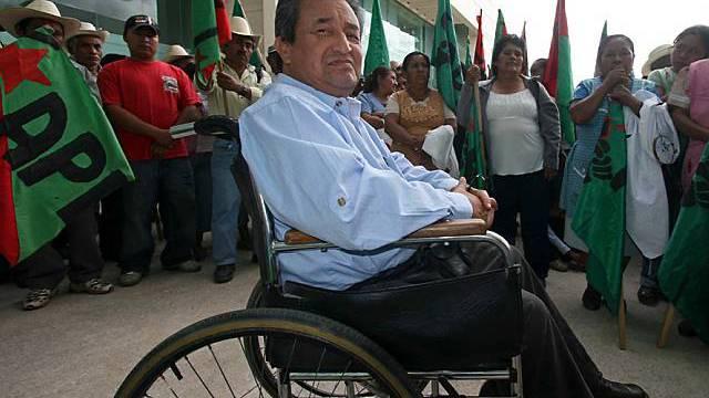 Seit 2001 war Pazos auf einen Rollstuhl angewiesen (Archiv)