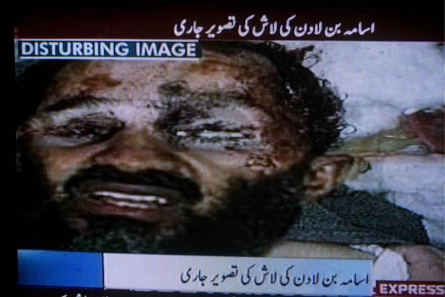 Dieses Bild vom angeblich toten Bin Laden ist eine Fälschung