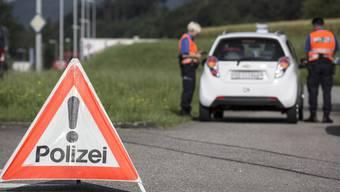 Die Kantonspolizei Solothurn hat am vergangenen Wochenende mehrere Personen angehalten.
