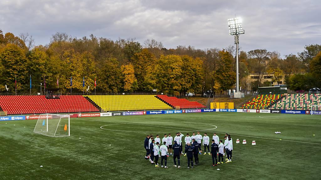 In diesem Stadion trifft die Schweiz in Vilnius auf Litauen