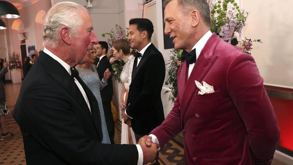 Neuer James Bond: Die Premiere in London in Bildern