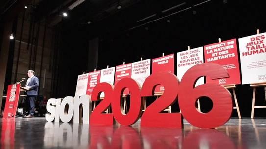 Ja-Kampagne zur Olympiakandidatur Sion 2026 ist lanciert