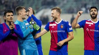 Der FCB schaffte gegen St. Gallen den ersten Auswärtssieg.
