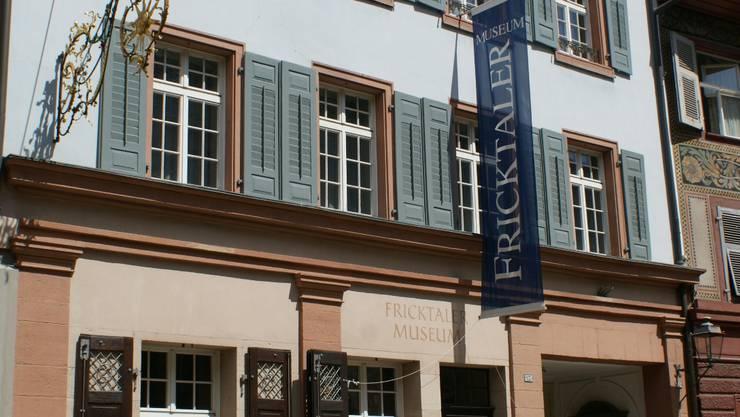 Das Fricktaler Museum an der Marktgasse wartet auf Neugierige.   ach