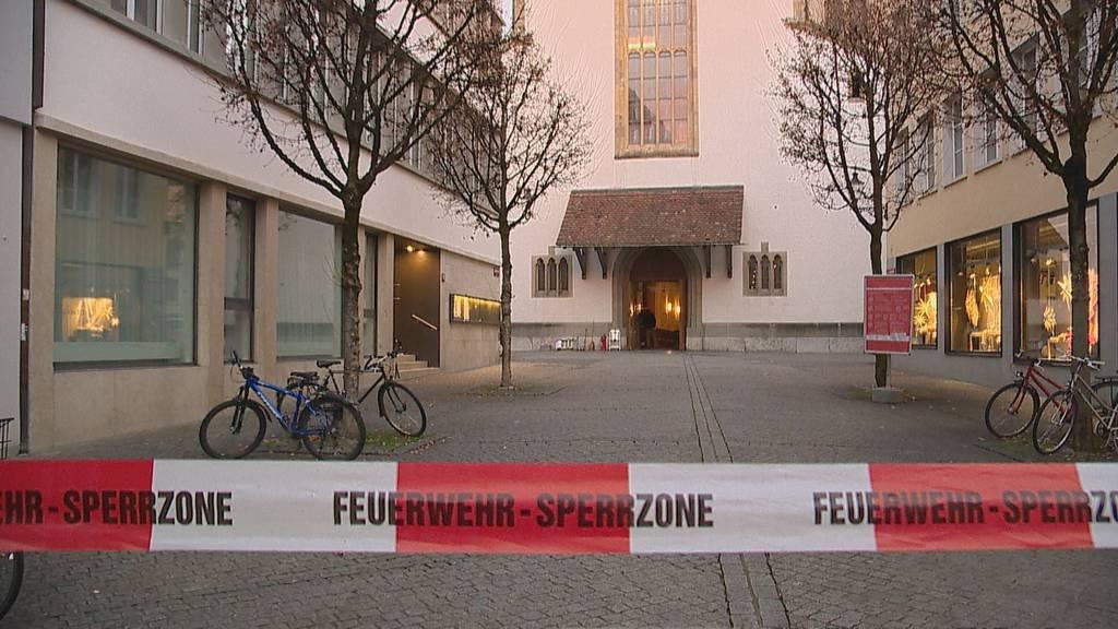 Brand in Stadtkirche verursacht grossen Schaden