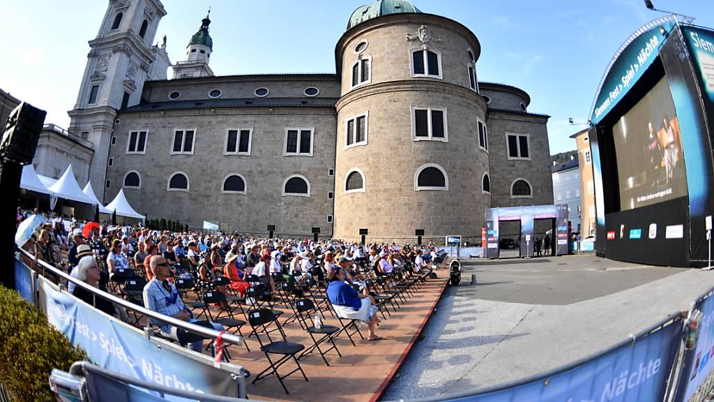 Salzburger Festspiele für den Sommer erneut zuversichtlich